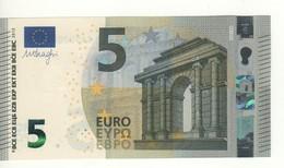 "5 EURO  ""Italy""     DRAGHI    S 001 E6    SA5020808261  /  FDS - UNC - EURO"