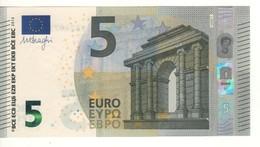 """5 EURO  """"Spain""""   DRAGHI    V 008 C1     VB2737153387     /  FDS - UNC - EURO"""
