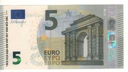 """5 EURO  """"Spain""""   DRAGHI    V 008 D1     VB2503370215     /  FDS - UNC - EURO"""