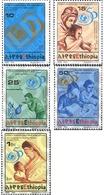 Ref. 233052 * MNH * - ETHIOPIA. 1996. 50TH ANNIVERSARY OF UNICEF . CINCUENTENARIO DE LA UNICEF - Ethiopie