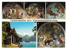 Tellskapelle Am Vierwaldstättersee - 5 Ansichten - UR Uri