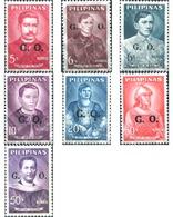 Ref. 312851 * MNH * - PHILIPPINES. 1962. PERSONALITIES . PERSONALIDADES - Filippijnen