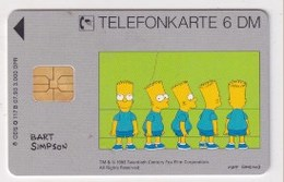 TK  25172 GERMANY - Chip O117B  07.93 Bart Simpson 3 000 Ex. MINT! - Deutschland
