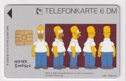 TK  25173 GERMANY - Chip O117A 07.93 Homer Simpson 3 000 Ex. MINT! - Deutschland