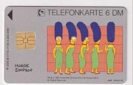 TK  25175 GERMANY - Chip O117D 07.93 Marge Simpson 3 000 Ex. MINT! - Deutschland