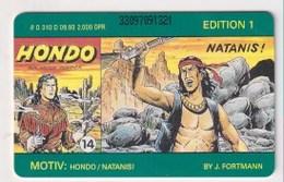 TK  25177 GERMANY - Chip O310D 09.93.Comic - Hondo 2 000 Ex. MINT! - Deutschland