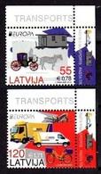 2013Latvia861-862Europa Cept / Cars6,00 € - Europa-CEPT