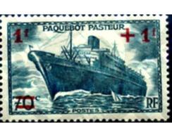 Ref. 247114 * HINGED * - FRANCE. 1941. WELFARE FUND FOR NAVAL CHARITIES . A BENEFICIO DE LAS OBRAS DEL MAR - Bateaux