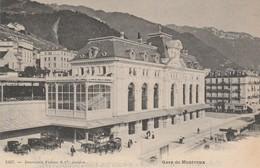 Suisse - MONTREUX - Gare De Montreux - VD Vaud