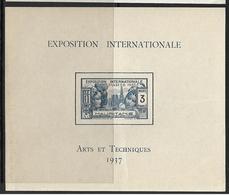 Mauritanie Bloc N°1** De L'expo De 1937 - Altri