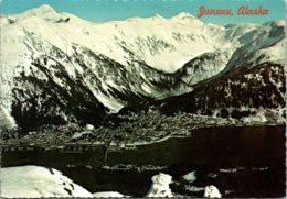Alaska Juneau Aerial View 1977 - Juneau