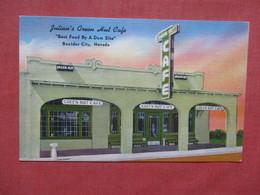 Julian's Green Hut Cafe Boulder City - Nevada     Ref 4116 - Etats-Unis
