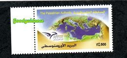 2014- Palestine - Euromed Postal -Joint Issue- Complete Set MNH** - Palästina
