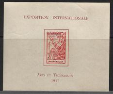 Madagascar Bloc N°1** De L'expo De 1937 - Other