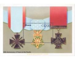 Ref. 317516 * MNH * - GHANA. 1995. 50th ANNIVERSARY OF THE SECOND WORLD WAR . 50 ANIVERSARIO DE LA SEGUNDA GUERRA MUNDIA - Ghana (1957-...)