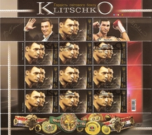 Ukraine 2010 Mi.No. 1089 Vitali Wladimir Klitschko Sport Boxers Boxing M\sh  CTO  12,00 € - Oekraïne