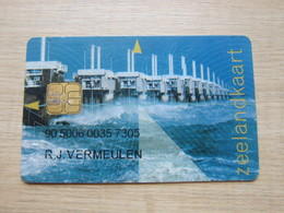 Zeeland Chip Card, Multi Function, Transport,telephone, Parking Card, Personal Account Card - Nederland