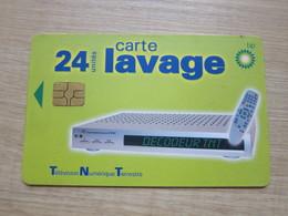 BP 24 Unites Carte Lavage,Television Numerique Terrestre - Ohne Zuordnung