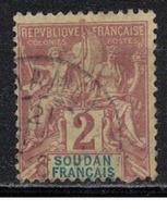 SOUDAN             N°  YVERT     4   OBLITERE       ( OB  7 / 41 ) - Soudan (1894-1902)