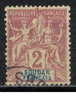 SOUDAN             N°  YVERT     4   (1)           OBLITERE       ( OB  7 / 41 ) - Sudan (1894-1902)