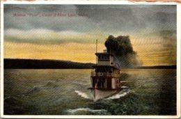"Idaho Coeur D'Alene Lake Steamer ""Flyer"" - Coeur D'Alene"
