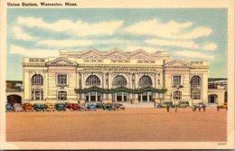 Massachusetts Worcester Union Station - Worcester