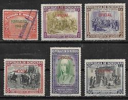 1944-52 Honduras V Cent.de Isabel La Católica 6v. - Honduras