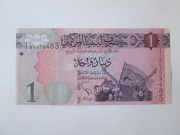 Libya 1 Dinar 2013 UNC Banknote - Libya
