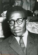 Photo De Presse / Politique CONGO . ANTOINE GIZENGA  Homme Politique En 1961 - Lieux
