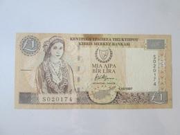 Cyprus 1 Lira 1997 Banknote - Cyprus