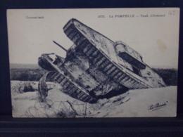529 MILITARIA . LA POMPELLE . TANK ALLEMAND . LA PENSEE - Guerra 1914-18