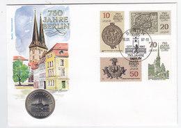 DDR Numisbrief - Monnaies