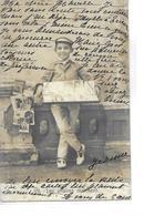 DIVERS  VENDEUR DE CARTES POSTALES   N 7  LES AFFAIRES MARCHENT    TIRAGE 1900 - Cartes Postales