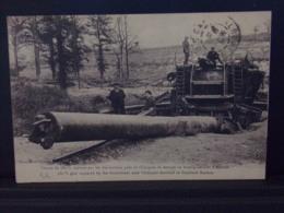 542 . MILITARIA . CANON DE 380 CAPTURE PAR LES AUSTRALIENS PRES DE CHUIGNES . DESTINE AU BOMBARDEMENT D AMIENS - Guerra 1914-18