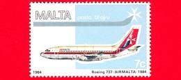 Nuovo - MNH - MALTA - 1984 - Aerei - Air Malta - Boeing 737- 7 - Posta Aerea - Malta