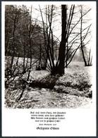 D6520 - TOP Fotokunst Herbert Linde - Spruchkarte Paul Gerhardt - Verlag Max Keßler - Autres