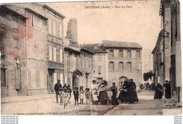 GRUISSAN RUE DU PONT 1916 TBE - Sonstige Gemeinden
