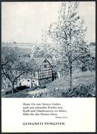 D6522 - Fotokunst Herbert Linde - Spruchkarte Philipp Spitta - Verlag Max Keßler - Autres