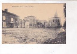 CPA DPT 82 SEPTFONDS, PLACE DE L EGLISE - Autres Communes