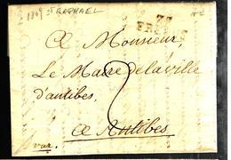 32759 - Mairie De ST RAPHAEL - Marcofilia (sobres)