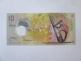 Maldives 10 Rufiyaa 2015 UNC Banknote - Maldives