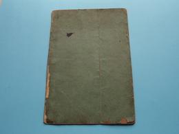 CARNET De MARIAGE Bruxelles 14 Sept 1865 ( MONNOYE François 1832 Nivelles & GRISARD Marguerite 1843 Gérouville ) ! - Vecchi Documenti