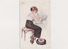 Carte Fantaisie Signée S.Meunier / Les Décolletées Parisiens N°1 - Série 52 - Meunier, S.