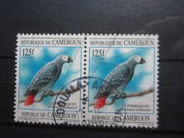 """VEND BEAUX TIMBRES DU CAMEROUN N° 877 EN PAIRE , OBLITERATION """" DOUALA """" !!! - Camerun (1960-...)"""