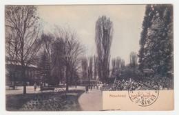 Neuchâtel Jardin Anglais N°3016 VOIR DOS Editeur Timothée Jacot - NE Neuchâtel