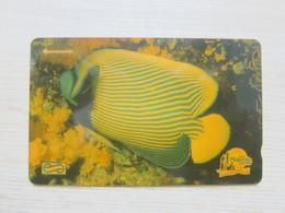 Uniphone GPT Phonecard,6MSAA  Visit Malaysia Year 1990, Ocean Fish, Used - Malaysia