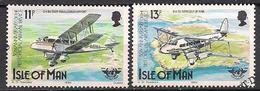 GB - Insel Man (1984)  Mi.Nr.  256 + 257  Gest. / Used  (3gh06) - Man (Eiland)