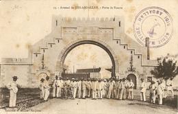 Tunisie 1914 - De Ferryville à Toulon - Cachet Génie Maritime Sidi Abdallah - Cp Sidi Abdallah - Porte De Bizerte - Tunesien (1888-1955)