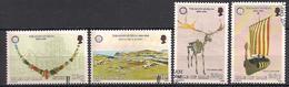 GB - Insel Man (1986)  Mi.Nr.  302 - 305  Gest. / Used  (3gh07) - Man (Eiland)