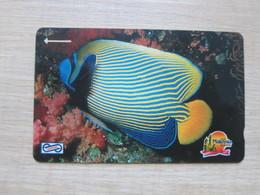 Uniphone GPT Phonecard,13MSAB  Visit Malaysia Year 1990, Ocean Fish, Used - Malaysia